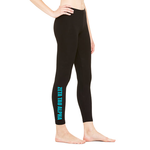 Zeta Tau Alpha Leggings