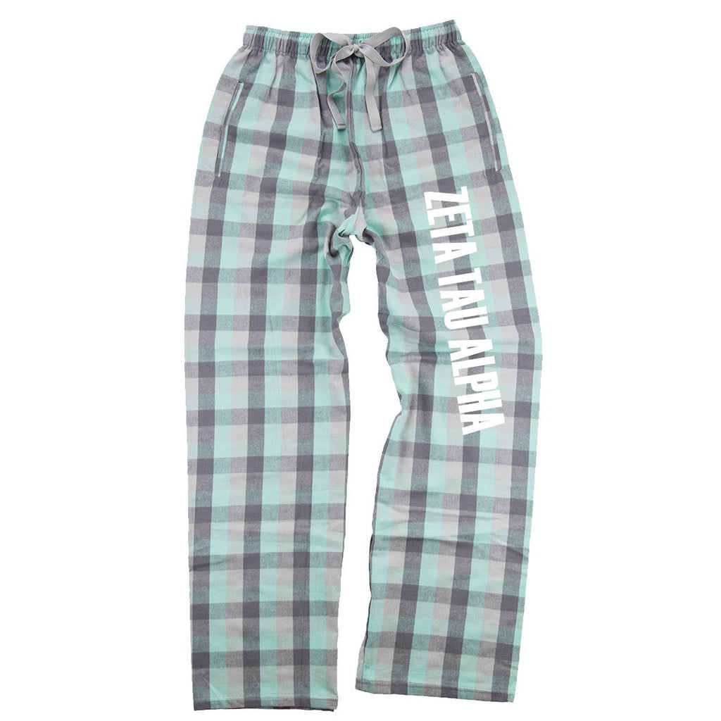 Zeta Tau Alpha Flannel Pants