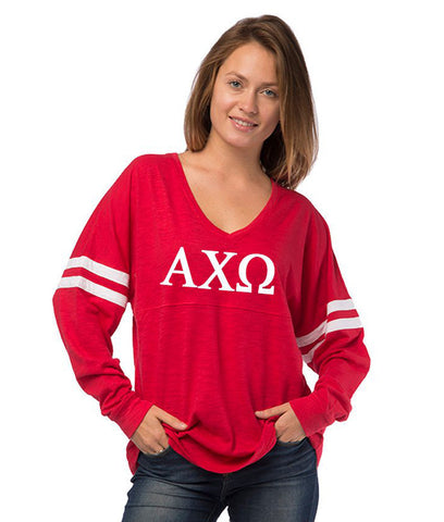 Alpha Chi Omega Long Sleeve T-Shirt