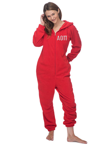 Alpha Omicron Pi Fleece Lounger