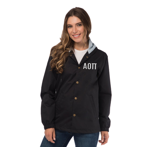 Alpha Omicron Pi Coaches Jacket