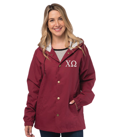 Chi Omega Coaches Jacket