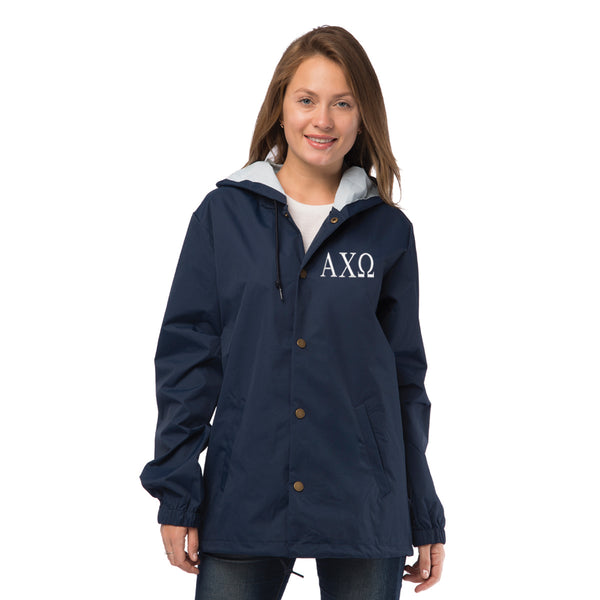Alpha Chi Omega Coaches Jacket