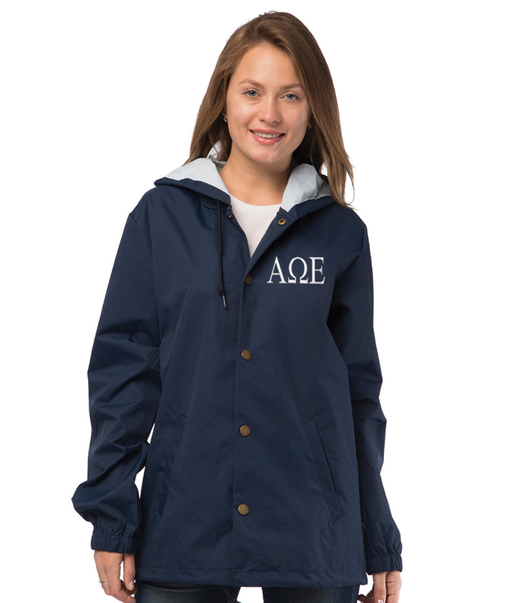 Alpha Omega Epsilon Coaches Jacket