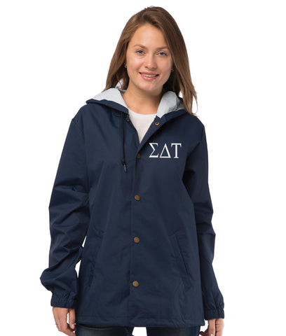 Sigma Delta Tau Coaches Jacket