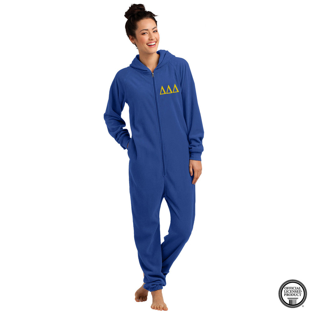 Delta Delta Delta Fleece Lounger