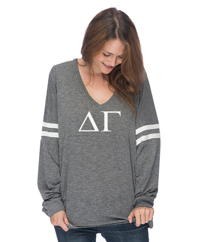 Delta Gamma Varsity Long Sleeve T-Shirt