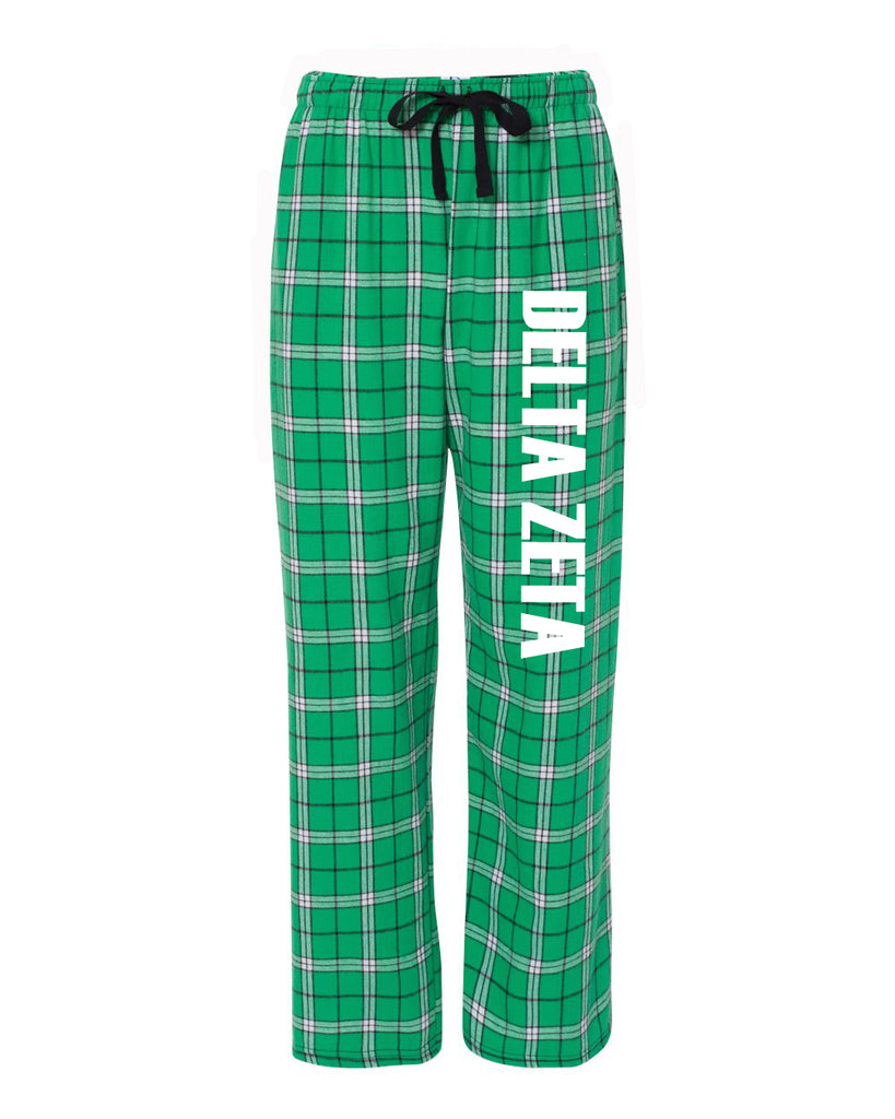 Delta Zeta Flannel Pants