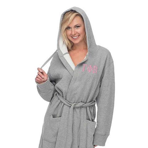 Gamma Phi Beta Hooded Sweatshirt Robe