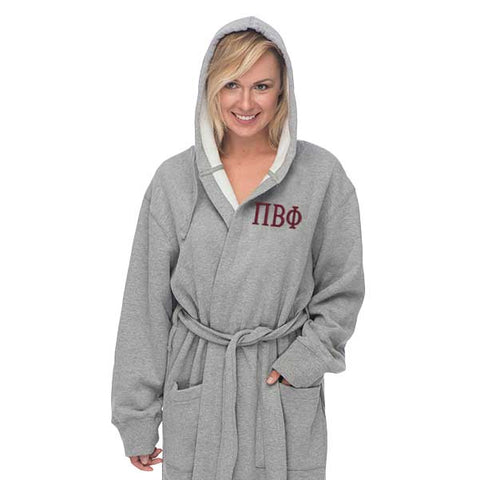 Pi Beta Phi Hooded Sweatshirt Robe