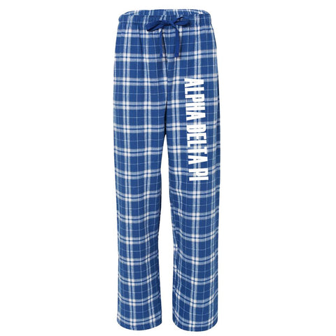 Alpha Delta Pi Flannel Pants