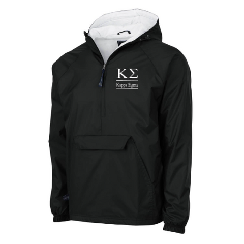 Kappa Sigma Flannel Lined Windbreaker