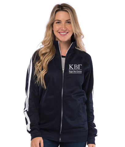 Kappa Beta Gamma Track Jacket