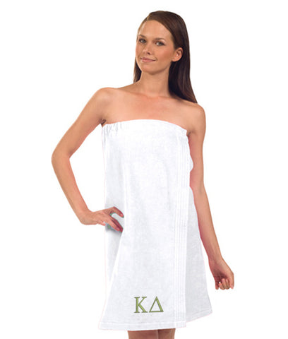 Kappa Delta Terry Velour Spa Wrap