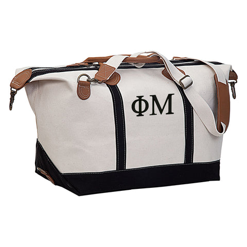Phi Mu Weekender Travel Bag