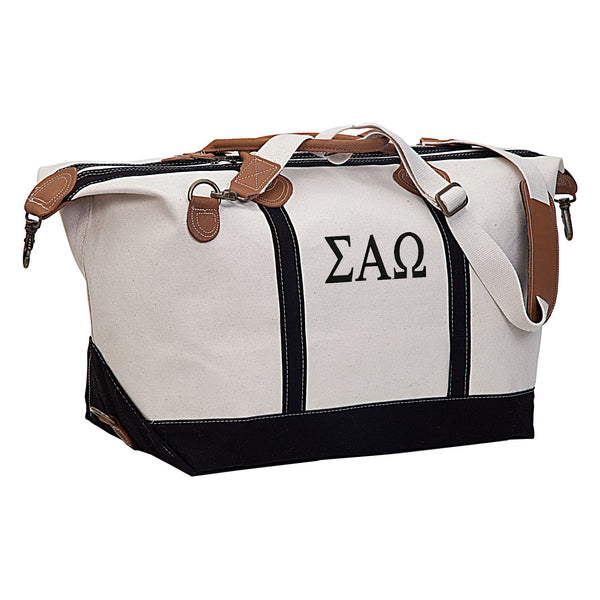 Sigma Alpha Omega Weekender Travel Bag