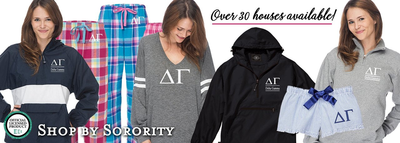 Shop by Sorority