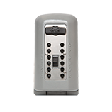 Key Safe w/ Push Button Titanium Cover