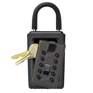 Key Safe w/ Push Button Black Cover