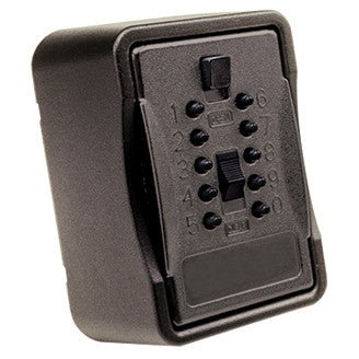 Key Safe Pro w/ Push Button Black Cover