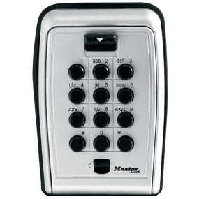Master Lock Combination Push Button Wall Mount Lock Box