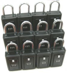Padlock Style Key Storage Lock Box