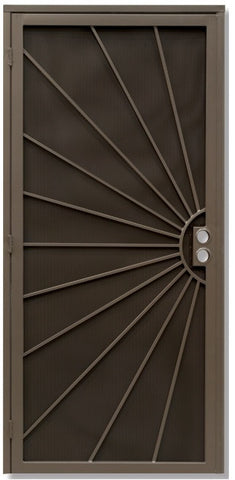 Sunburst Security Door