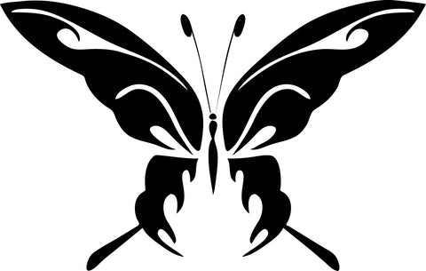 Abstract Butterfly vinyl decal