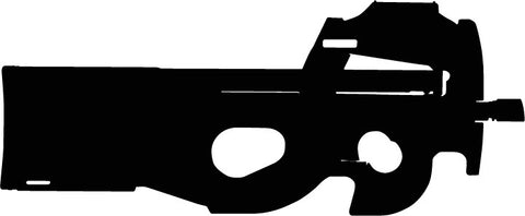 FN P90 PDW Personal Defence Weapon vinyl decal sticker