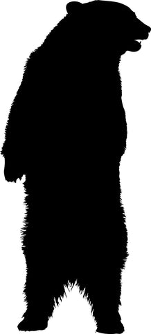 Standing Bear vinyl decal