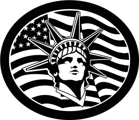 Statute of Liberty American Icon vinyl decal car sticker