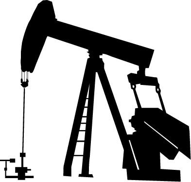 Oil Pumpjack vinyl decal sticker