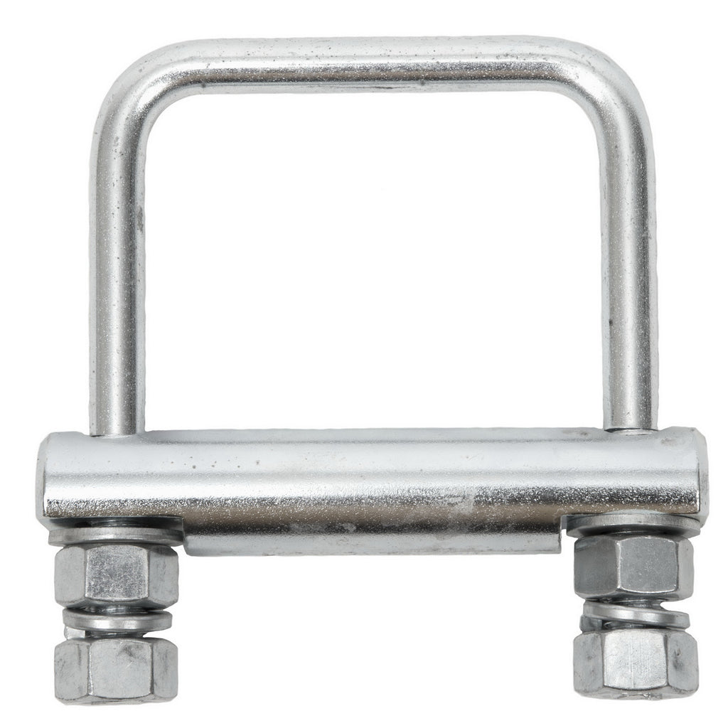 Hitch clamp for 2 1/2 inch trucks