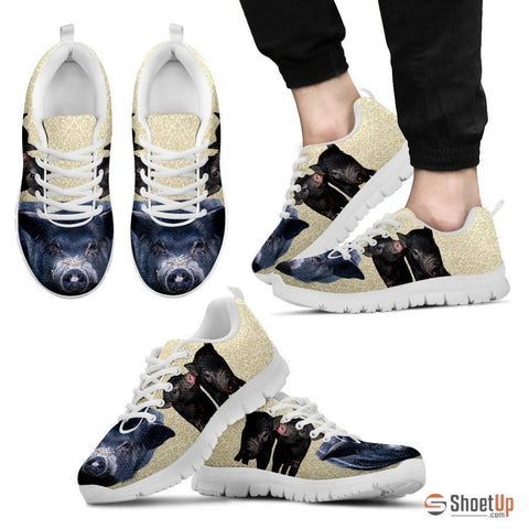 Black Pig Running Shoes For Men-Free Shipping Limited Edition