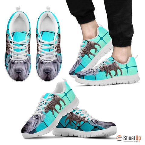 Shar Pei-Dog Running Shoes For Men-Free Shipping Limited Edition