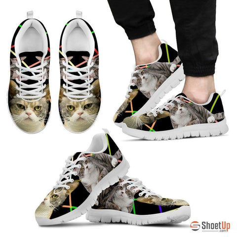 American Wirehair Cat Running Shoes For Men-Free Shipping