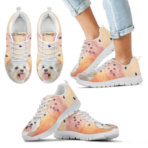 Lovely Maltese Print Running Shoes For Kids- Free Shipping