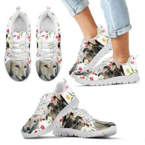 Saluki Dog Running Shoes For Kids-Free Shipping