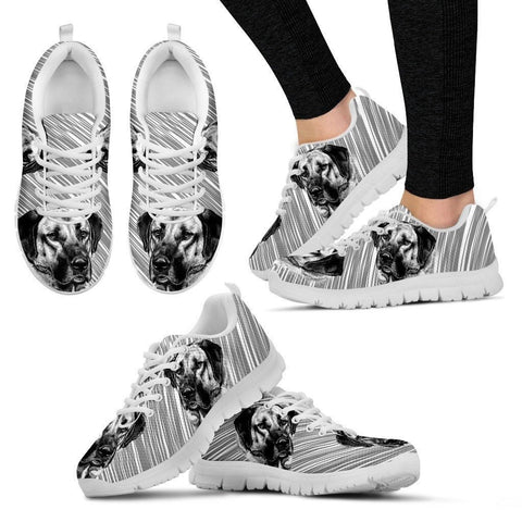 Customized Dog Print Shoes For Women-Free Shipping-Designed By Elisabeth Von Buchwaldt
