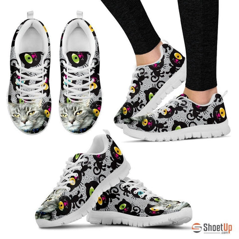 Sammie Jo Hook-Cat Running Shoes For Women-Free Shipping
