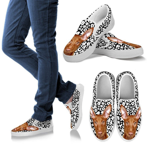 Pharaoh Hound Dog Print Slip Ons For Women-Express Shipping