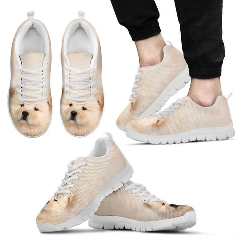 Chow Chow Dog Running Shoes For Men-Free Shipping