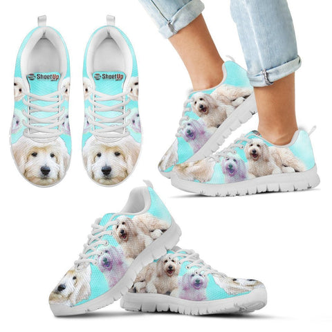 Cute Goldendoodle Print Running Shoes For Kids- Free Shipping
