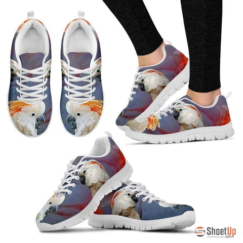 Salmon-crested cockatoo Parrot Running Shoes For Women-Free Shipping
