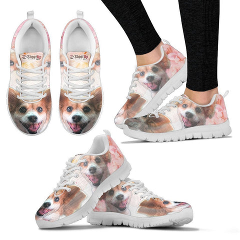 Amazing Customized Dog Running Shoes For Women-Designed By Sandy Hunter-Express Shipping