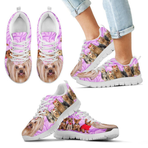 Group Yorkshire Dogs Running Shoes For Kids-Free Shipping