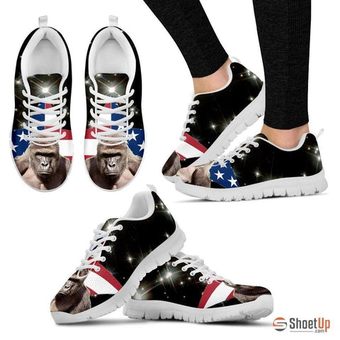 Harambe The Hero - Women's Sneakers - Free Shipping