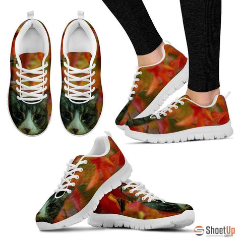 Julia Thompson/Cat-Running Shoes For Women-3D Print-Free Shipping
