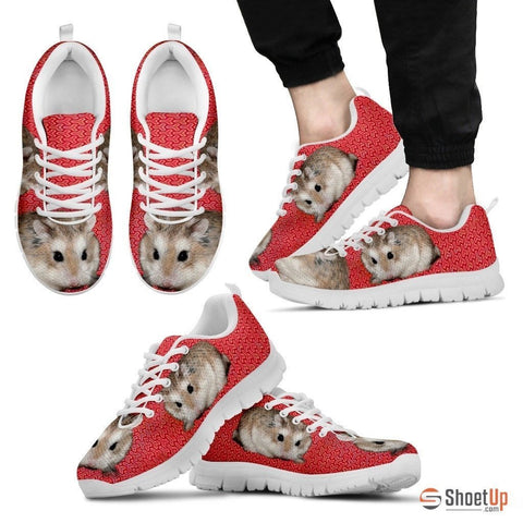 Roborovski Hamster (Black/White) Running Shoes For Men-Free Shipping Limited Edition