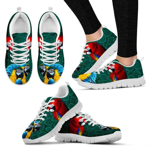 Scarlet Macaw Parrot Running Shoes For Women-Free Shipping
